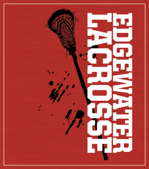 High School Lacrosse T-shirt Stick