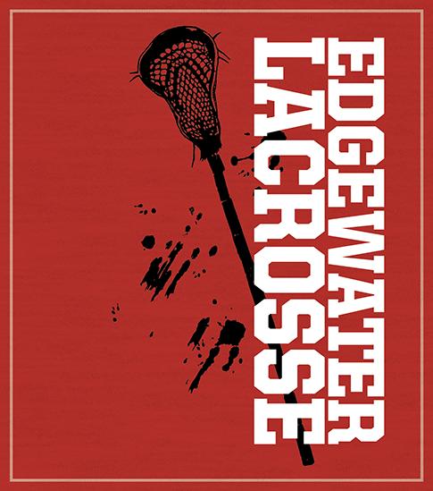High School Lacrosse T-shirt Stick