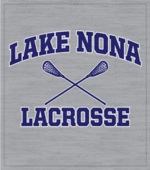 Lacrosse T-shirt Crossed Sticks