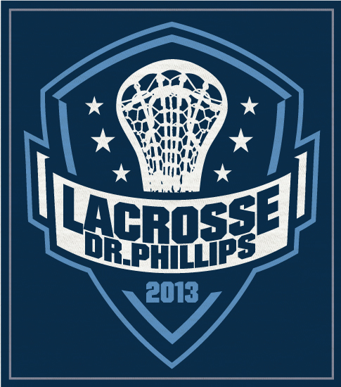 Lacrosse Team T-shirt with Crest
