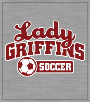 Ladies Soccer T-shirt-School Team