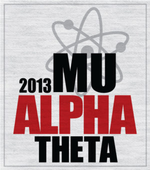 Mu Alpha Theta Big Band T-shirt