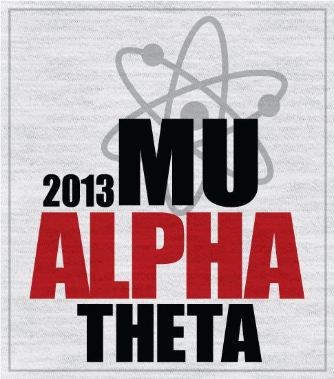 Mu Alpha Theta Big Band T-shirt