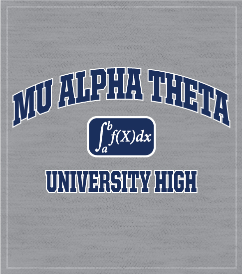 Mu Alpha Theta Calculus T-shirt