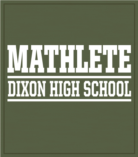 Mu Alpha Theta T-Shirt Mathlete