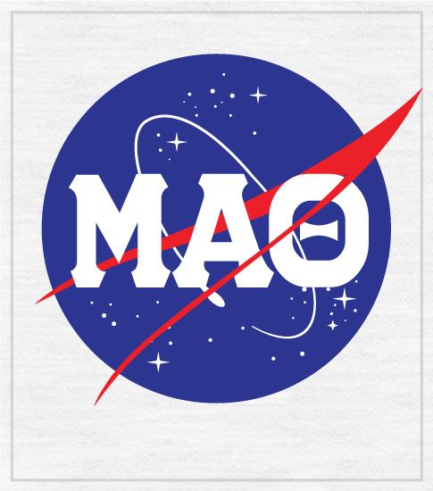 Mu Alpha Theta T-shirt NASA logo