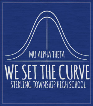 Mu Alpha Theta T-shirt Curve