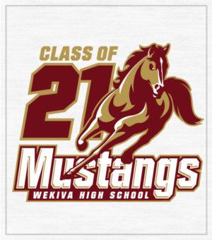 Mustang Class of 2021 T-shirt