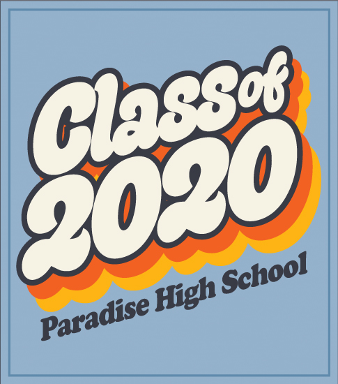 Class of 2020 T-shirt Retro