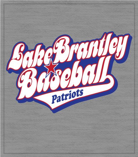 Retro Script Baseball T-shirt