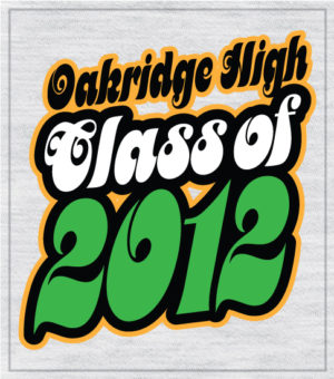 Retro Seventies Class of 2020 T-shirts