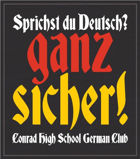 School German Club T-shirt