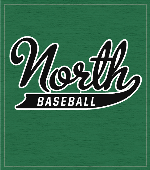 Script Baseball T-shirt North
