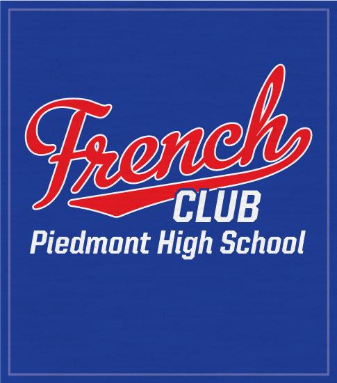 Script French Club T-shirt