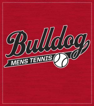 Script Men's Tennis T-shirt