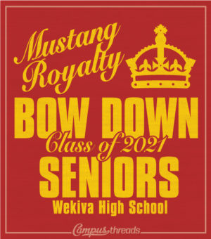 Senior Class Shirt Bow Down