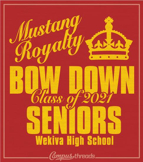 Senior Class Shirt Bow Down