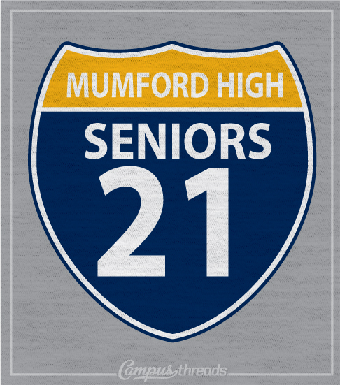 Senior Class T-shirt Highway