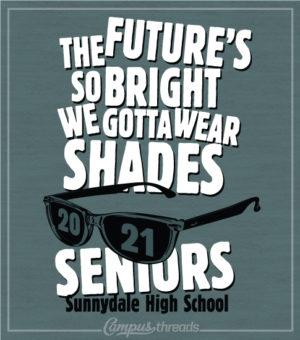 Senior Class T-shirts Glasses