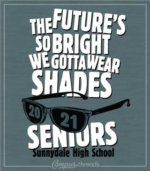 Senior Class T-shirts Glasses