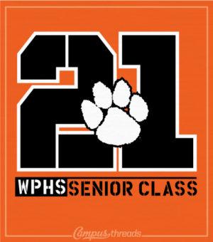 Senior Class T-shirt Paws Print