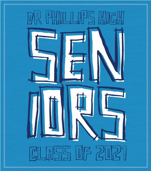 Senior Class T-shirt Blue