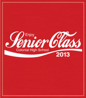 Senior Class T-shirts Cola
