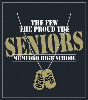 Senior Class T-shirts Dog Tags