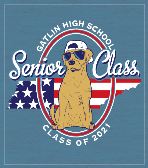 Senior Class T-shirt Dog