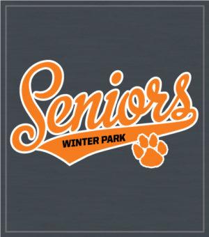 Senior Script T-shirt