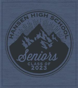 Senior Class T-shirt Mountains