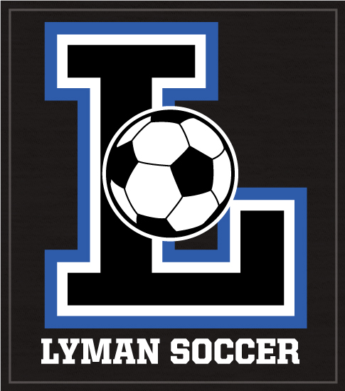 Big Letter Soccer Team T-shirt