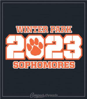 Sophomore Class T-shirt Stencil