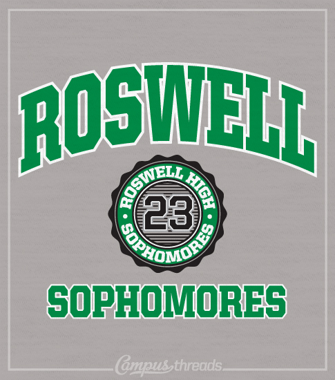 Sophomore Class T-shirt Arched
