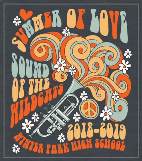 Summer of Love Band T-shirt