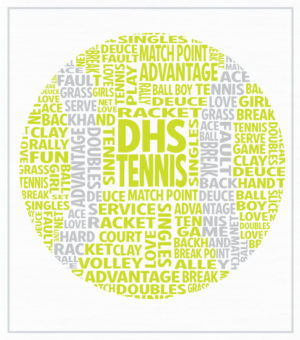 Tennis Team T-shirt Tennis Ball