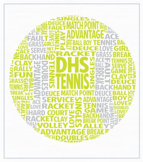 Tennis Team T-shirt Tennis Ball
