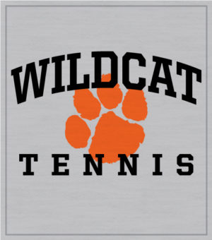 Arched Tennis T-shirt with Paw