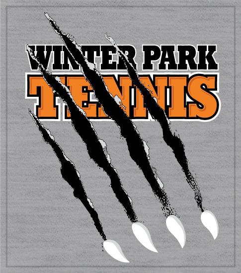 Tennis Team T-shirt Tearing Claw