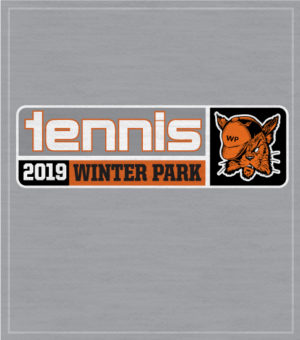 High School Tennis Team T-shirt