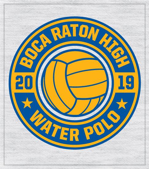 Water Polo T-shirt Circle Logo