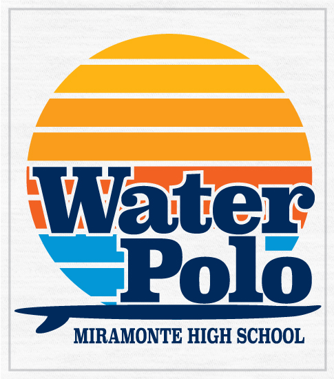 Retro Surf Water Polo T-shirt