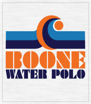 Water Polo Shirt with Wave