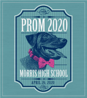 Prom T-shirt Black Lab