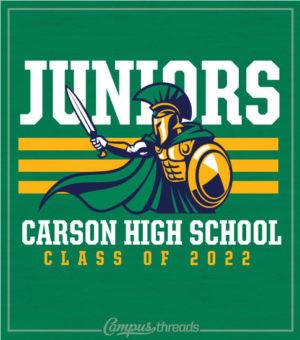 Junior Class T-shirt with Mascot