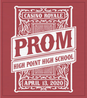 Casino Night Prom T-shirt