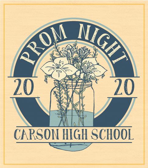 Prom Night Shirt Mason Jar