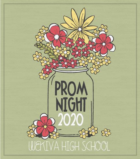 Prom Night T-Shirt Mason Jar