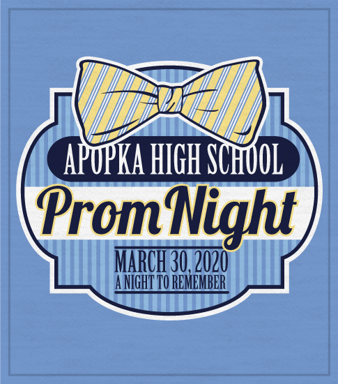 Prom T-shirt Preppy Tie