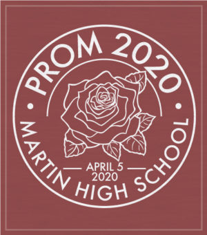 Prom T-shirt With Rose